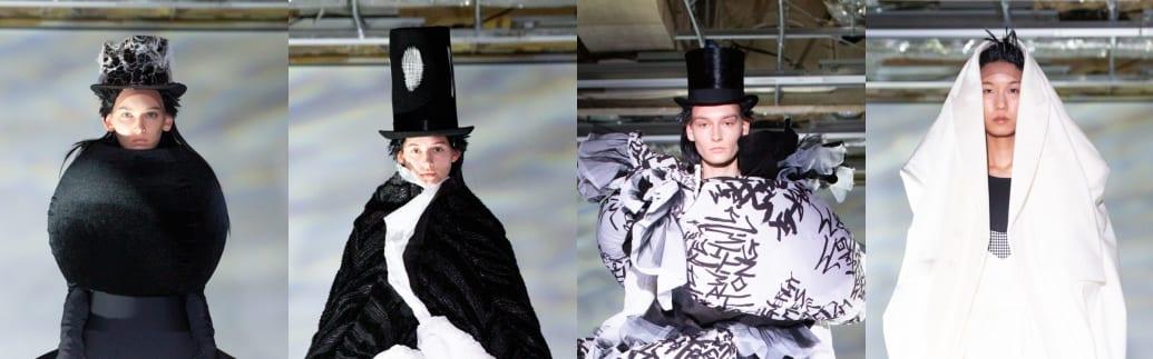 コム デ ギャルソン 2021-22年秋冬コレクション