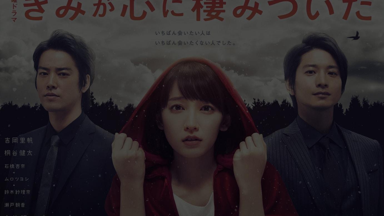 TBS系ドラマ「きみが心に棲みついた」ポスタービジュアル