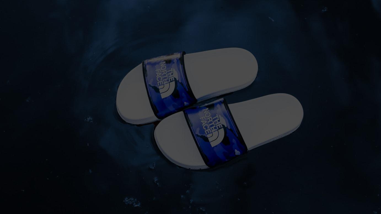 「BASECAMP SLIDE2」BLUE CAMO(税別5,300円)