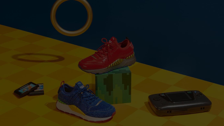 (左から)RS-0 x Sonic、RS-0 x Dr Eggman