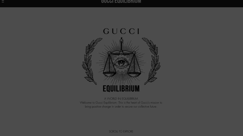 「GUCCI EQUILIBRIUM」より