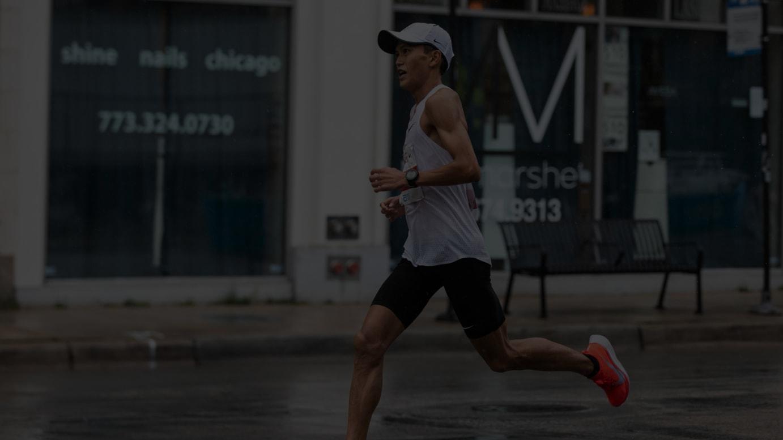 シカゴマラソンで日本新記録を樹立した大迫傑選手