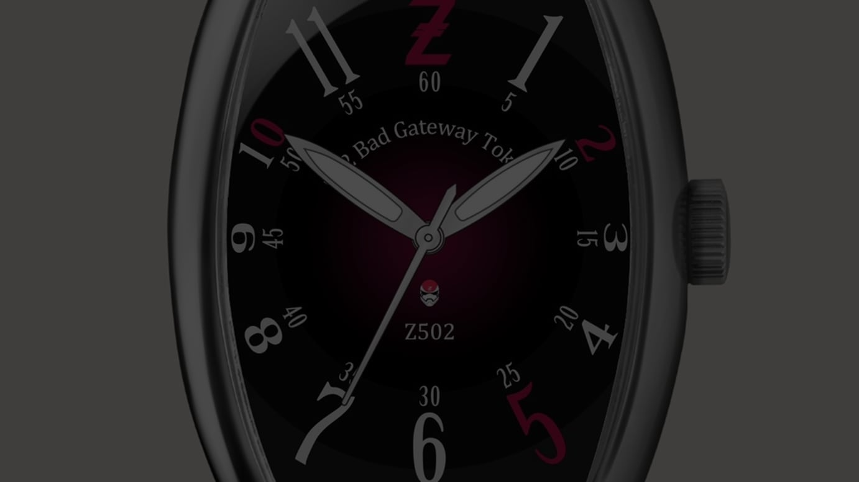 「Z502 Watch」イメージ図