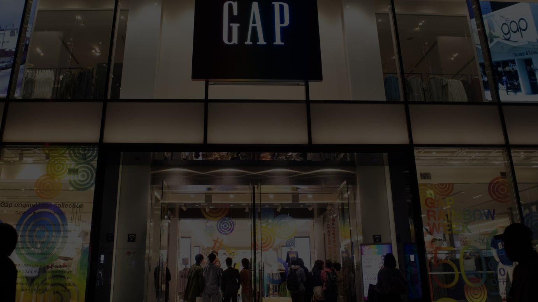 Gapフラッグシップ原宿