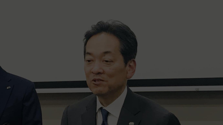 三越伊勢丹ホールディングス 杉江俊彦社長