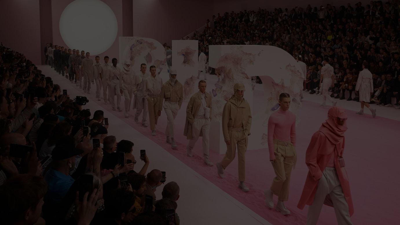 ディオール メンズ2020年サマーコレクションのフィナーレ