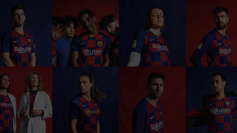 FCバルセロナの2019-20年シーズン ホームキット