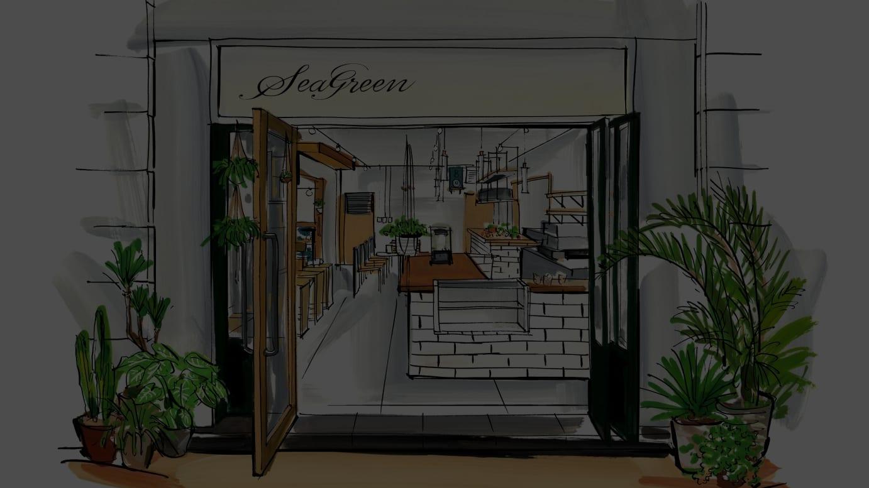 コンセプトカフェ外観イメージ