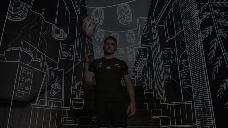 オールブラックスがラグビーワールドカップ2019で着用するユニフォーム