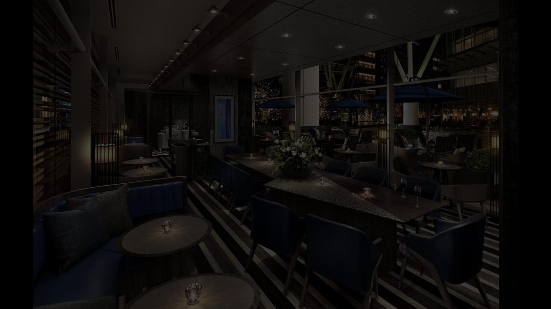「ザ・リッツ・カールトン カフェ&デリ」イメージパース
