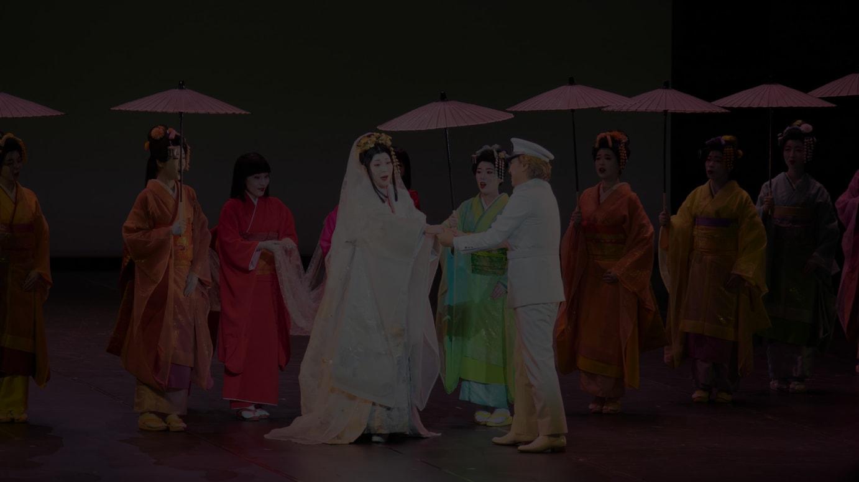 第1幕 結婚の儀のシーン