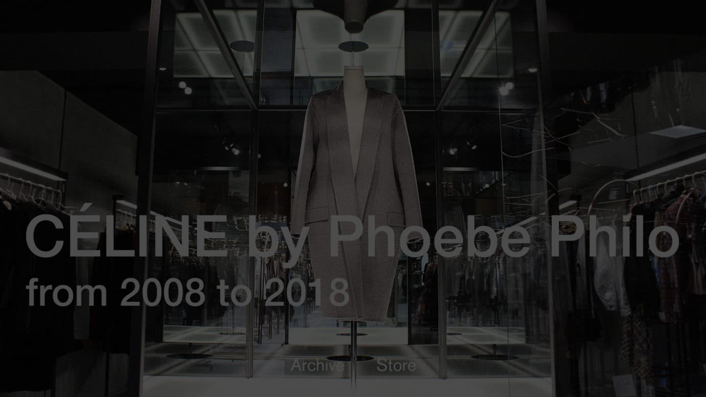 CÉLINE by Phoebe Philo from 2008 to 2018