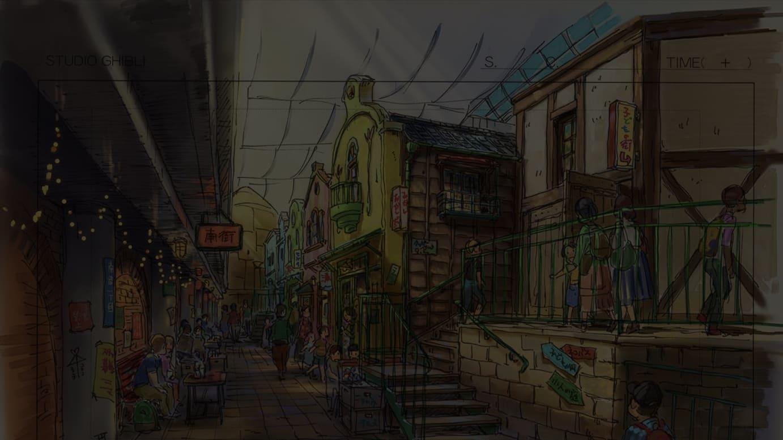 「ジブリの大倉庫エリア」 ©︎ Studio Ghibli