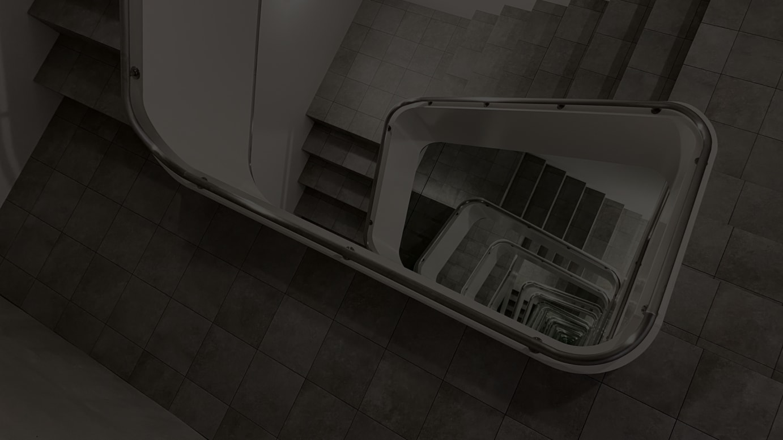 KAMU kanazawa コレクション《INFINITE STAIRCASE》 ©Leandro Erlich