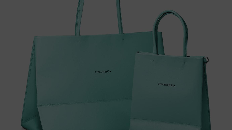 (左)ショッピング トート バッグ ラージ、(右)ショッピング トート バッグ スモール