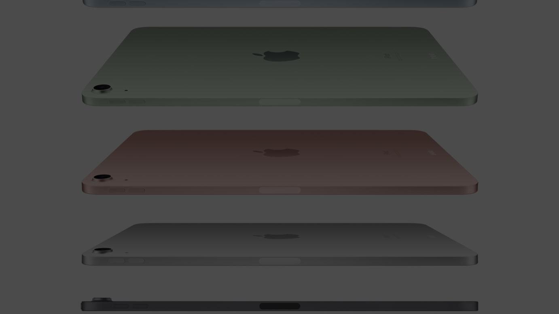 フルスクリーンを採用した新型 iPad Air