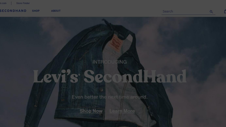 「Levi's® SecondHand」公式サイトより