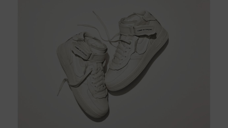 Nike x COMME des GARÇONS Air Force 1 Mid