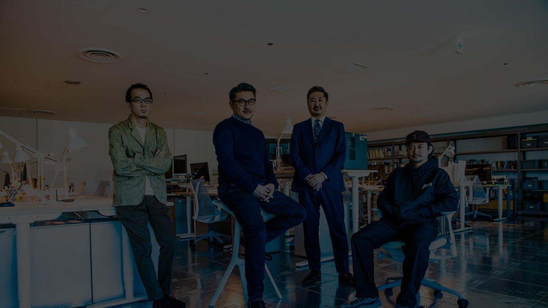 (左から)石橋素氏、齋藤精一氏、千葉秀憲氏、真鍋大度氏