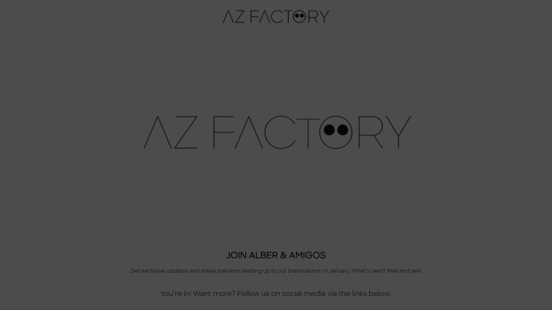 AZ Factoryの公式サイトより