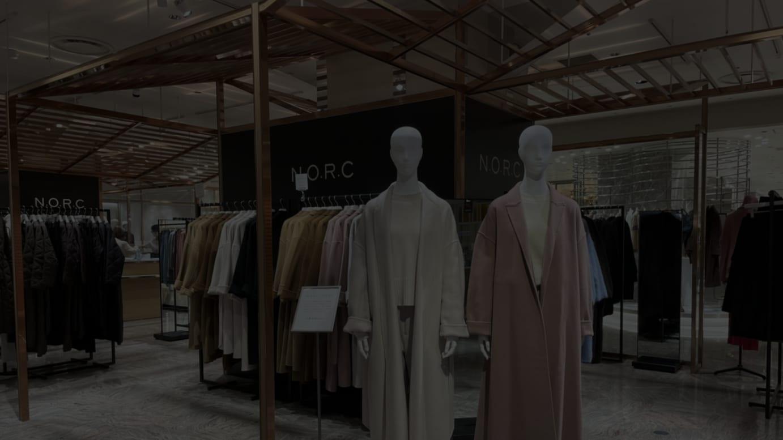 ノーク 店舗 東京 ノークの限定ウールコートや人気トレンチコートに出会える限定ストア...