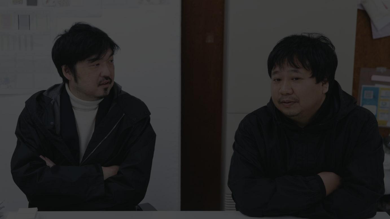 左)坂部三樹郎、右)中島真
