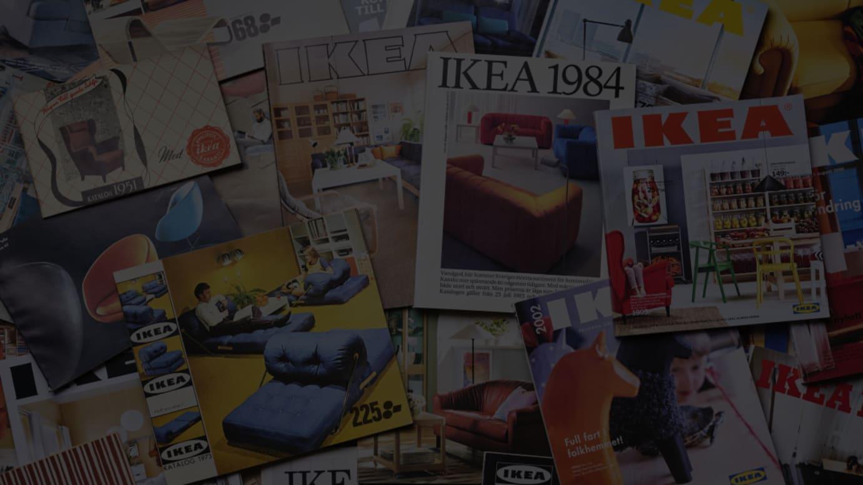 IKEAカタログ イメージヴィジュアル