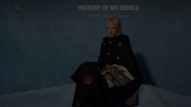History Of My World 公式サイトより
