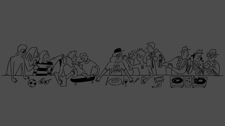 「The Last Supper」 メインヴィジュアル