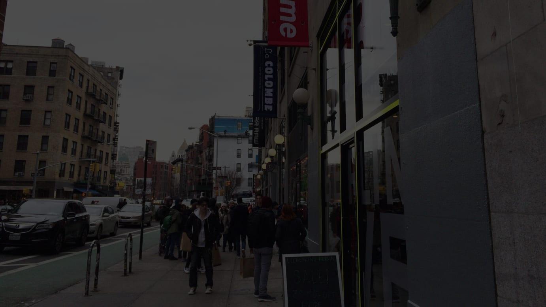2015年のニューヨークのシュプリーム店舗