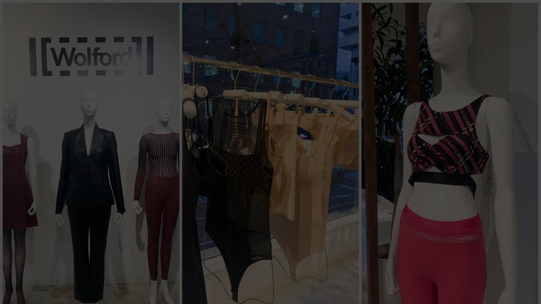 「ウォルフォード」2021年春夏コレクションの展示会
