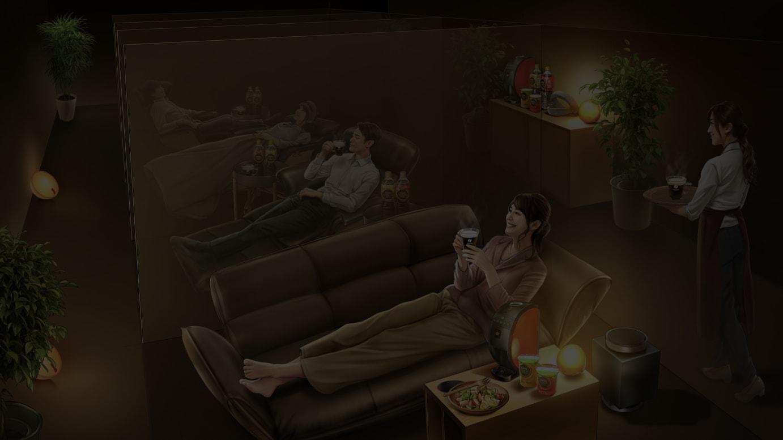 「ネスカフェ 睡眠カフェ in 原宿」