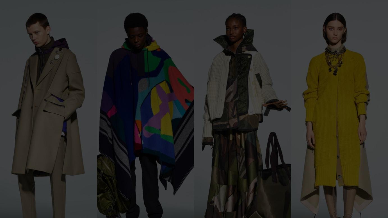 「サカイ」メンズ2021年秋冬コレクション&ウィメンズ2021年プレフォールコレクション