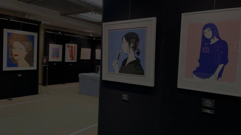 大丸梅田店「ART!ART!OSAKA」会場の様子