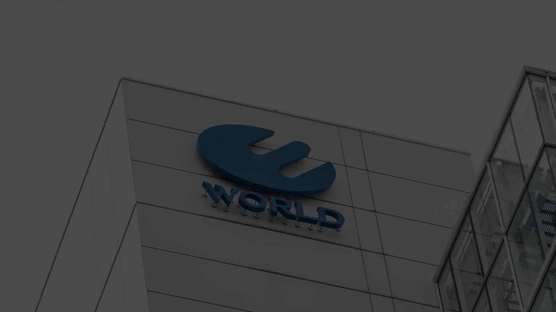 ワールドのロゴ