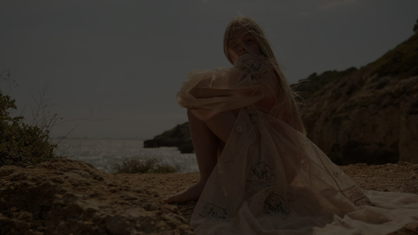 Top photo:swimsuit by PACIFIC RAINBOW, dress by SIMONE ROCHA