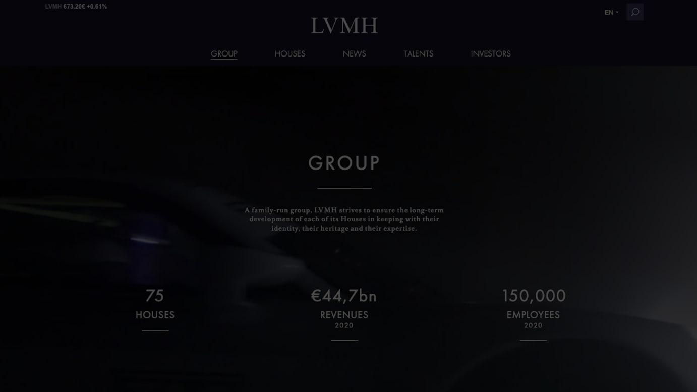 LVMH公式サイトより