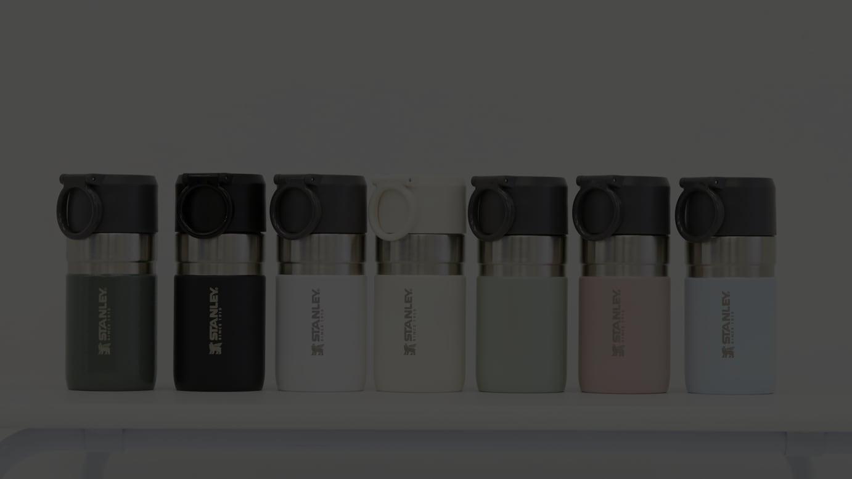 「ゴーシリーズ真空ボトル」0.28Lサイズ(各税込3850円)