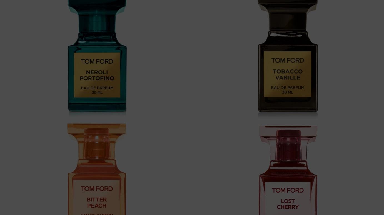 (左上から時計回りに)「ネロリ・ポルトフィーノ」をはじめ、「タバコ・バニラ」「ビター ピーチ」「ロスト チェリー」