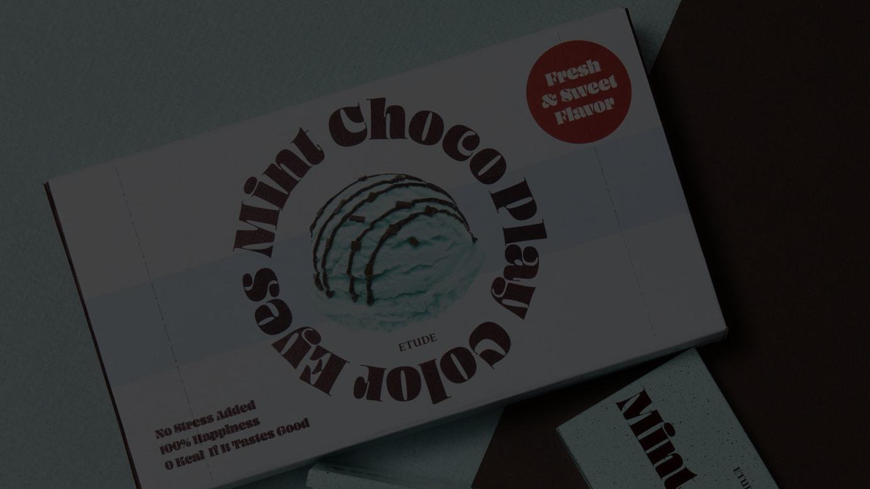 プレイカラーアイズミニ チョコミント イメージヴィジュアル