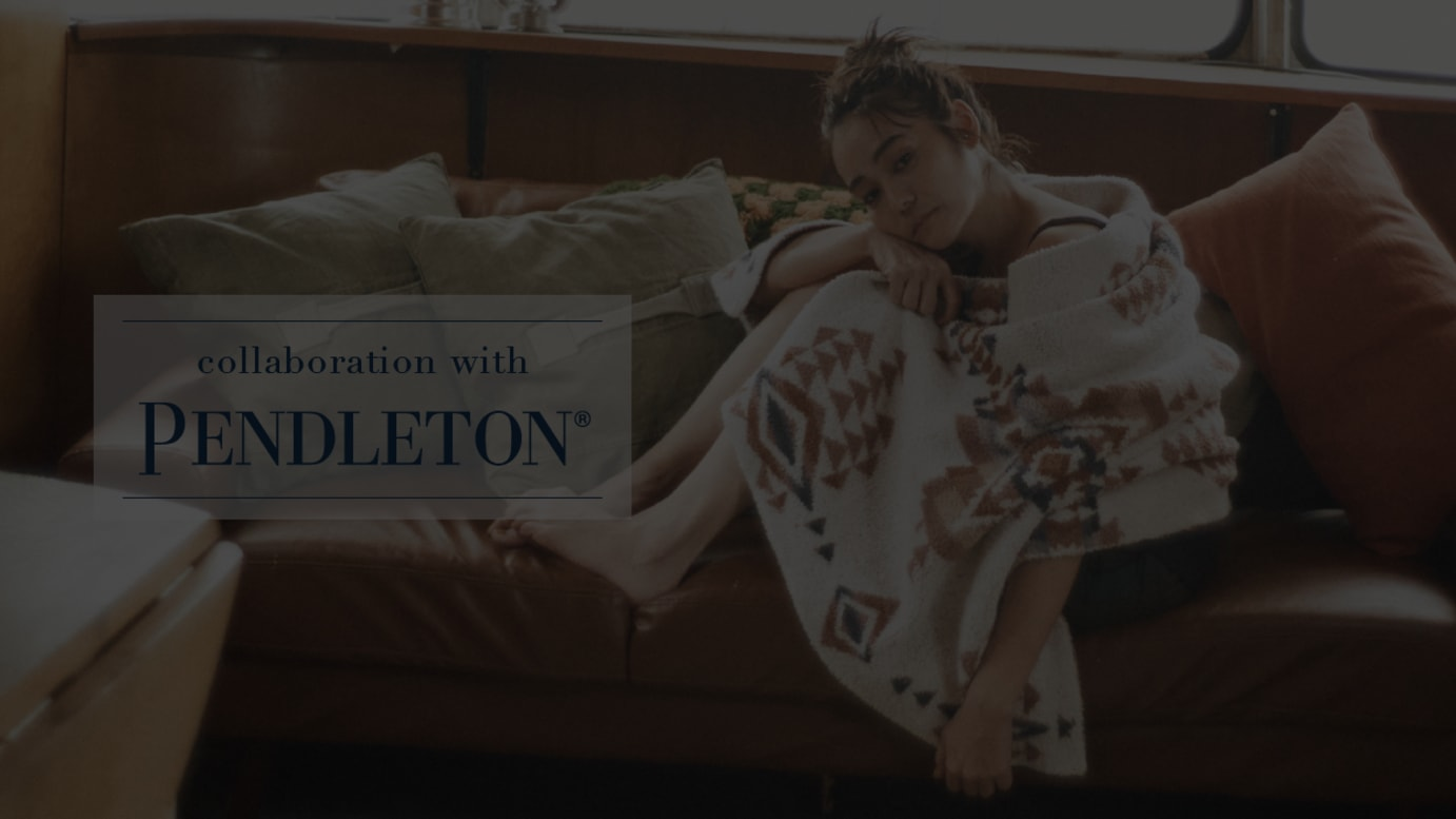 collaboration with PENDLETON
