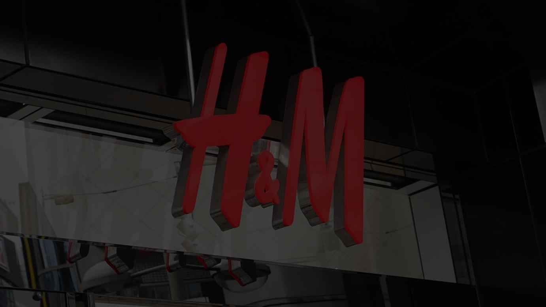 「H&M」のロゴ