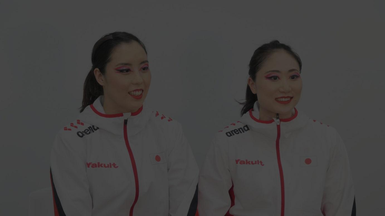 「マーメイドジャパン」乾選手・吉田選手
