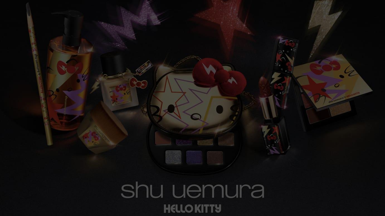 「shu uemura×Hello Kitty」メインヴィジュアル