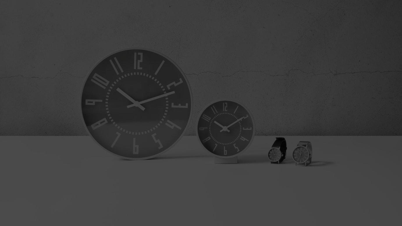 「eki clock watch 15th anniversary gray model」