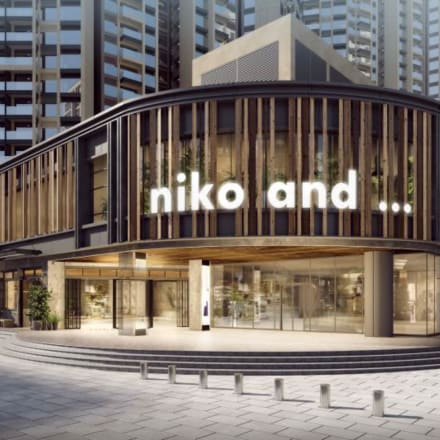 niko and ... 南京西路 in point店イメージパース Image by ニコアンド