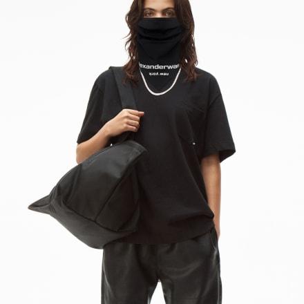 「Logo bandana mask」ブラック(税別6000円) Image by alexanderwang