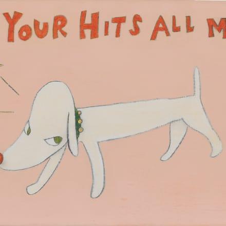 """""""If Your Hits All Miss"""" Image by 2000 ©Yoshitomo Nara  Photo by Keizo KIOKU"""