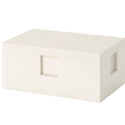 BYGGLEK/ビッグレク レゴ®ボックス ふた付き(1699円)
