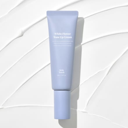 White flower tone up cream Image by Milk Touch